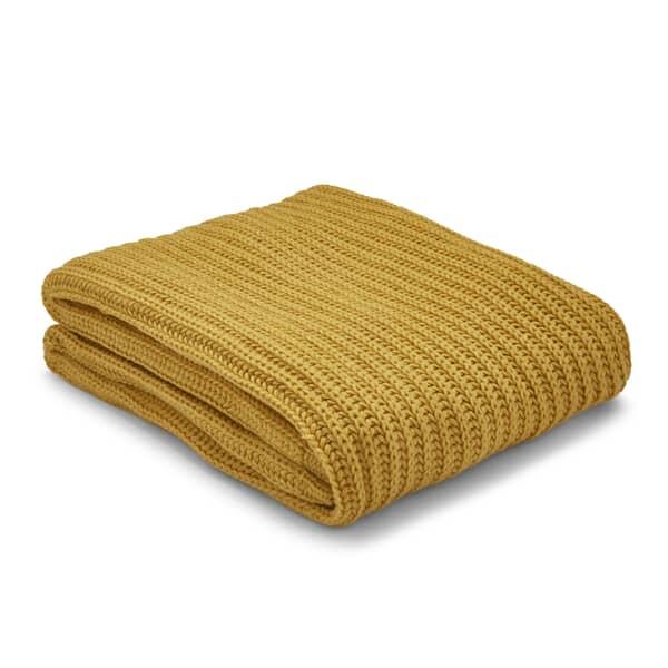Chunky Knit Ochre