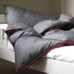 Fine Bedding Co Night Owl Grey/ Pink