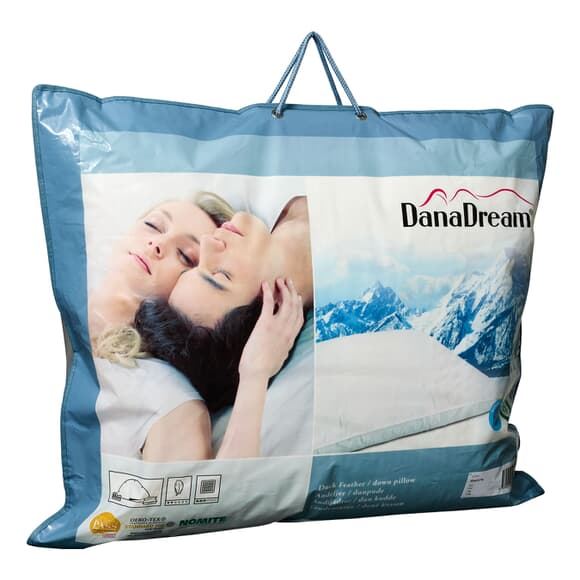 Dana Dream White Duck Down Pillow large