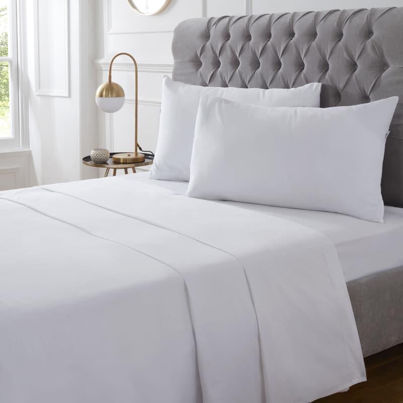 Vantona Cotton 400 T/C White large