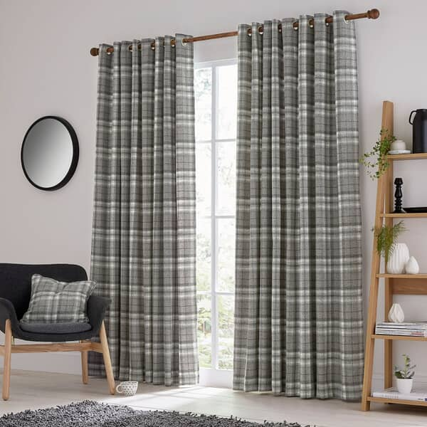 Harriet Charcoal Curtains