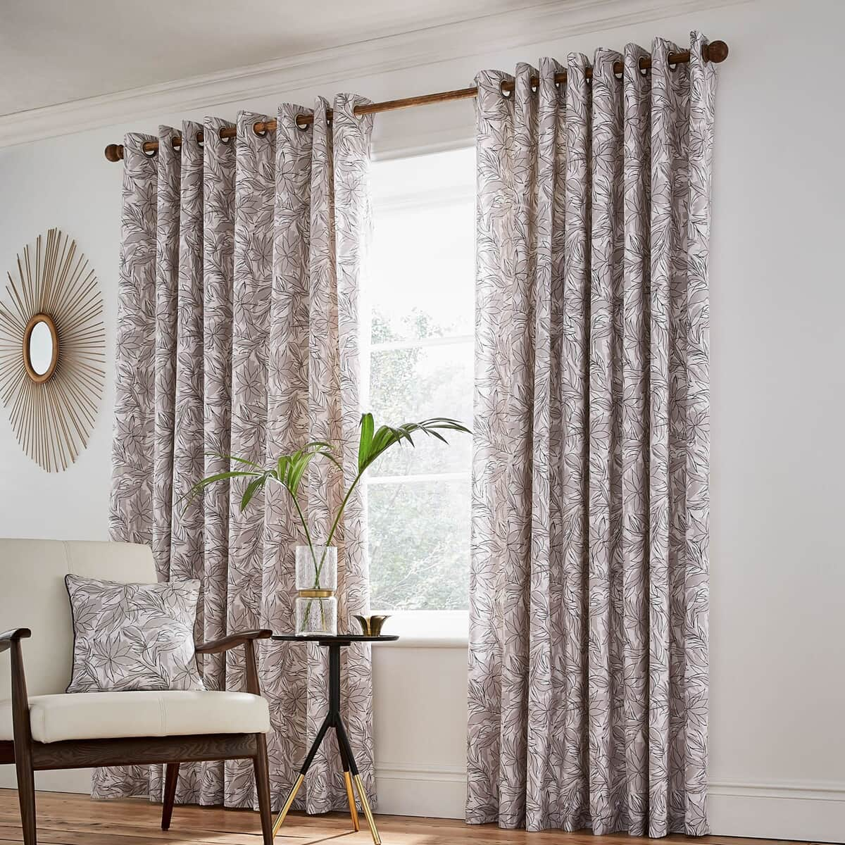 Helena Springfield Oasis Linen Curtains large