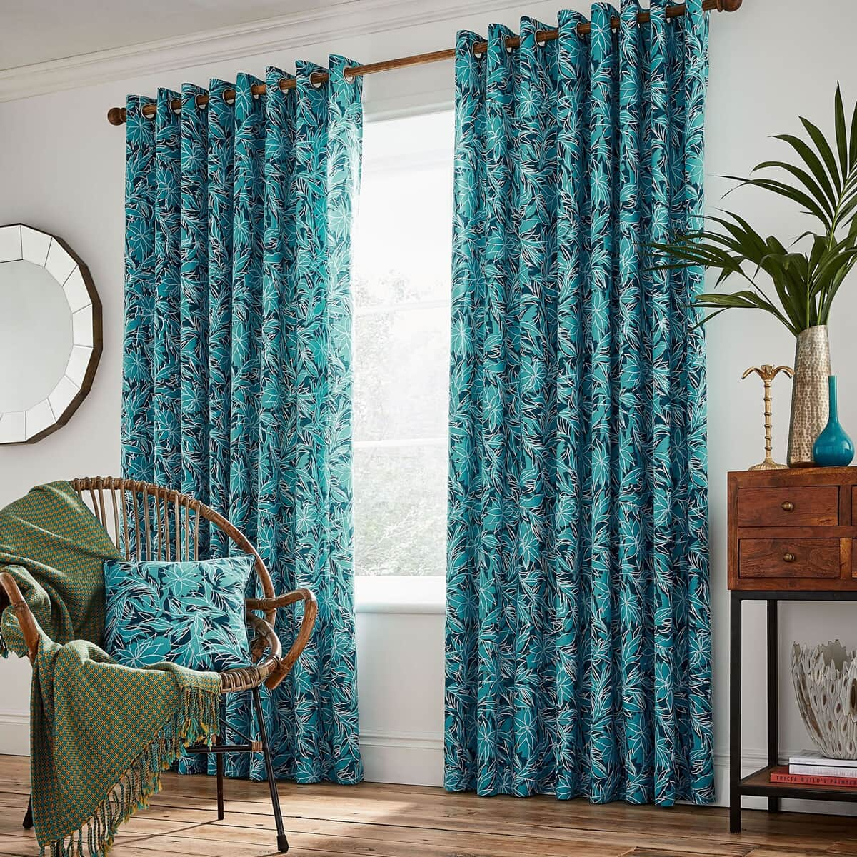 Helena Springfield Oasis Oceanic Curtains large