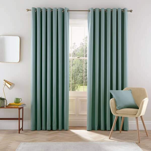 Eden Duck Egg Curtains
