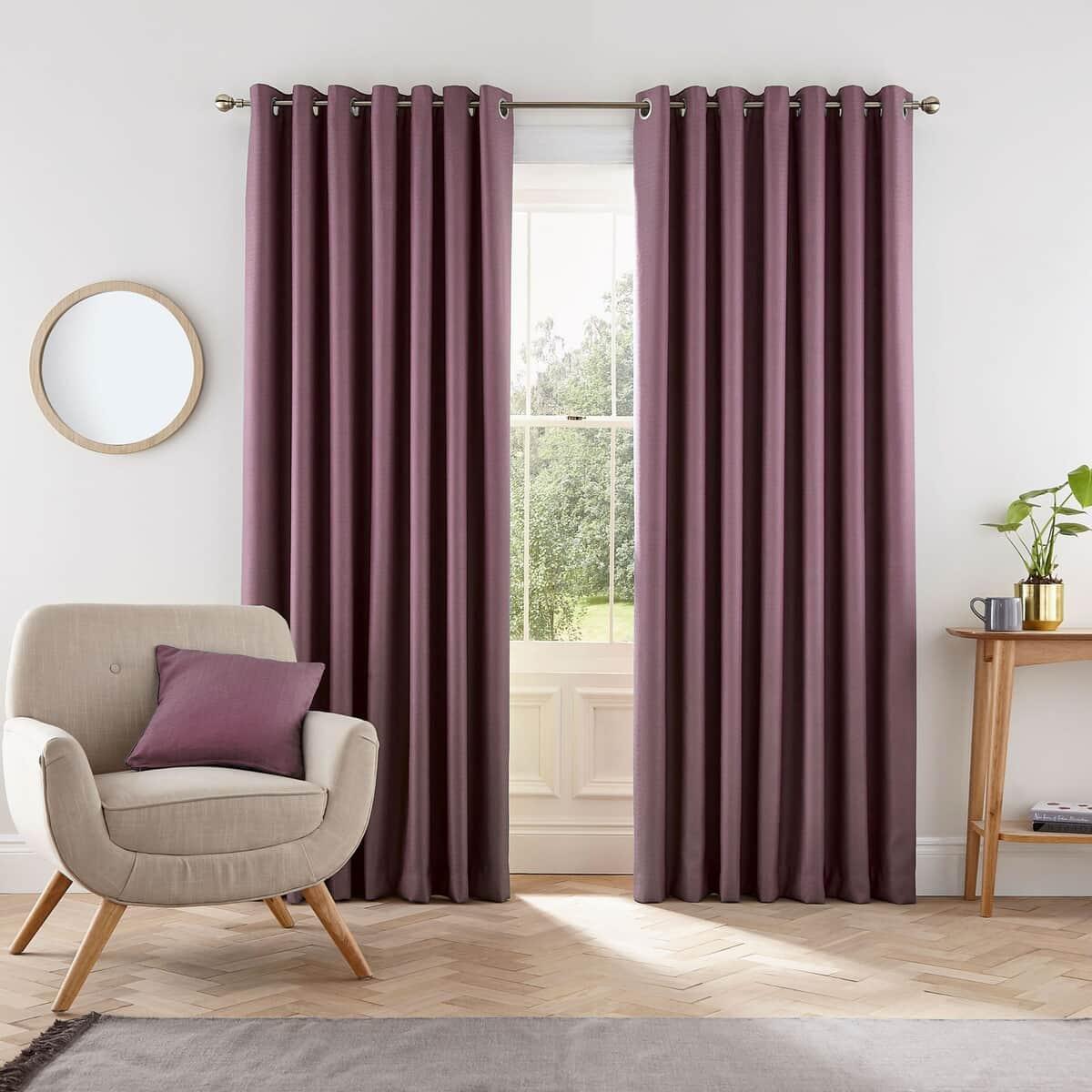 Helena Springfield Eden Grape Curtains large