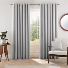 Eden Silver Curtains