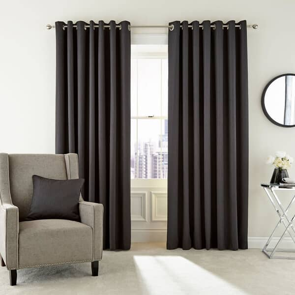 Barcelo Graphite Curtains