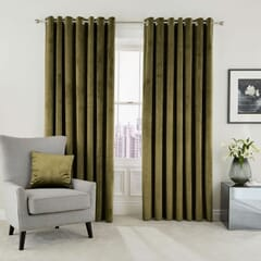 Escala Olive Curtains