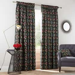 Campion Black Curtains