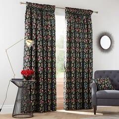 Campion Black Curtains