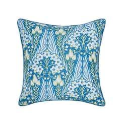 Alyssum Blue Cushion