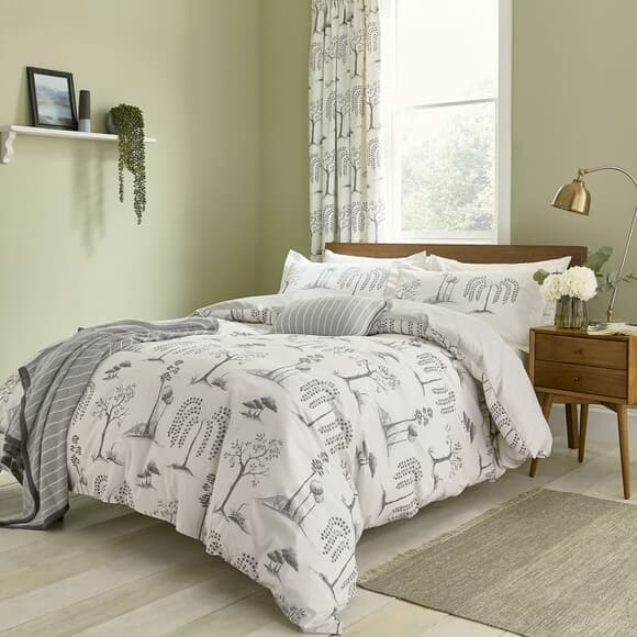 Sanderson Home Willow Tree Grey large