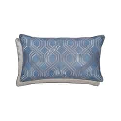 Amara Cushion Prussian Blue