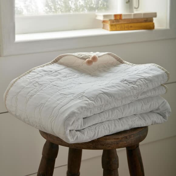 Sophie Allport Hares Throw large
