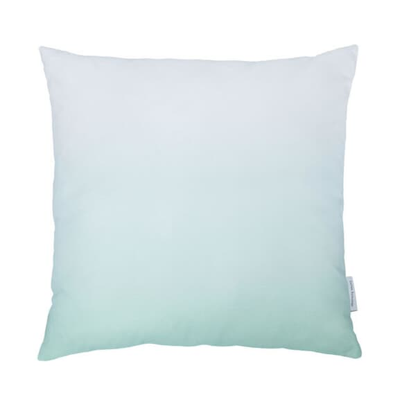 Cotton Anthology Frost Cushion Green large