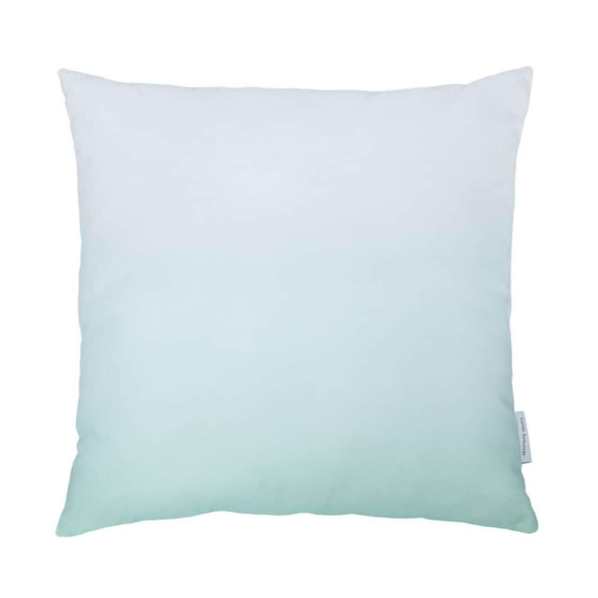 Cotton Anthology Frost Cushion Green large