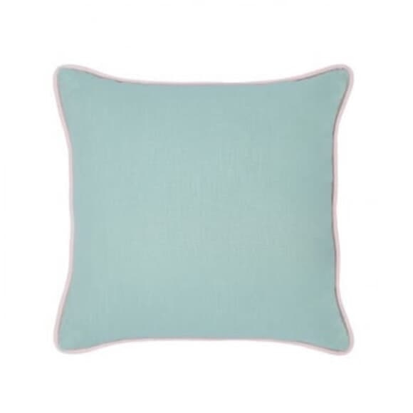 Cotton Anthology Twain Cushion Green large