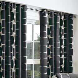 Lohko Curtains Black