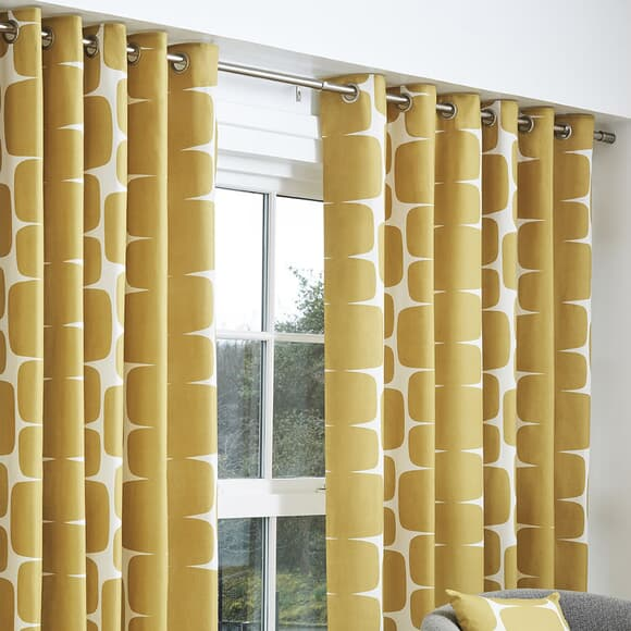 Scion Curtains Lohko Curtains Honey large