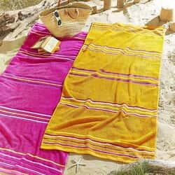Rainbow Beach Towel Twin Pack Pink