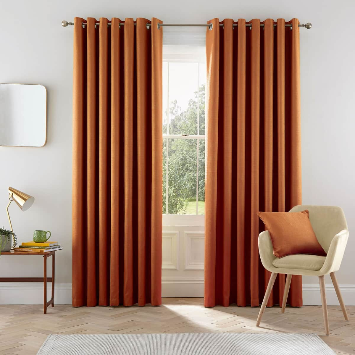 Helena Springfield Eden Ginger Curtains large
