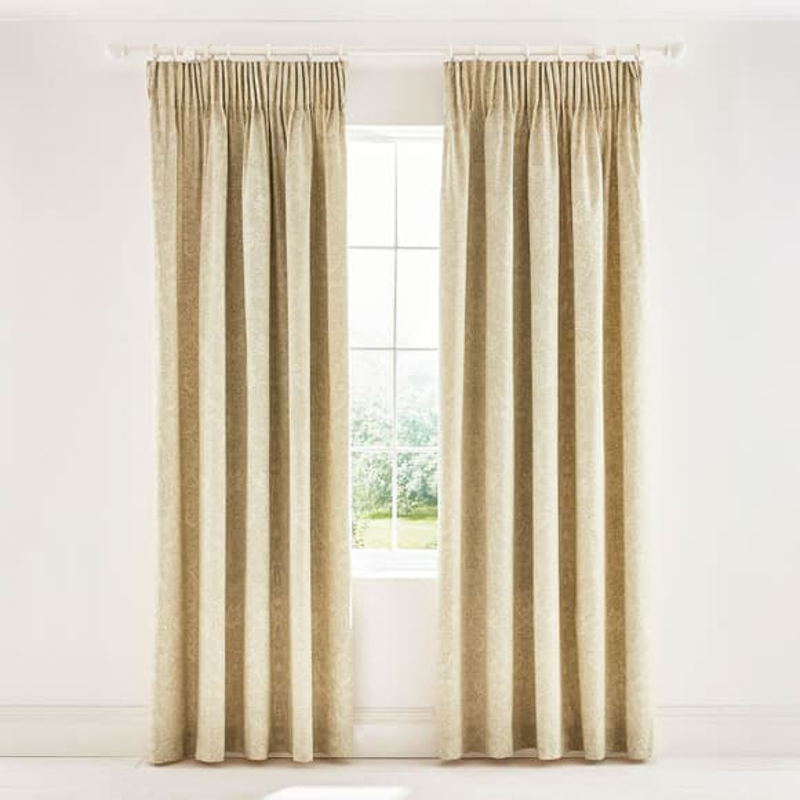 William Morris Bullerswood Curtains Linen large