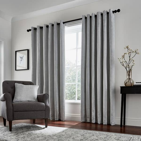 Roma Curtains Silver