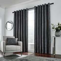 Roma Curtains Gunmetal