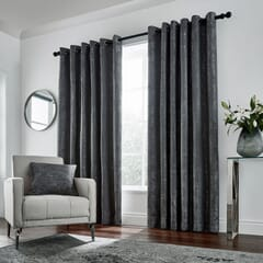 Roma Curtains Gunmetal