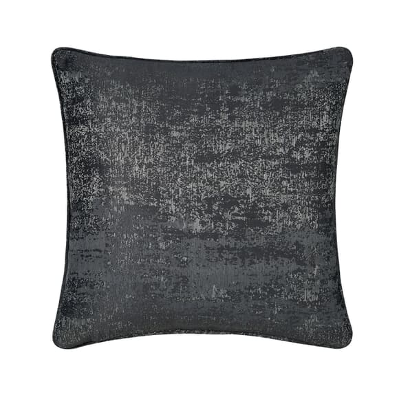 Peacock Blue Hotel Roma Cushion Gunmetal large