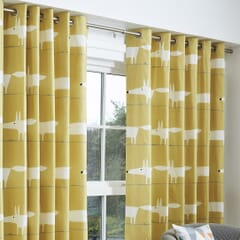 Mr Fox Curtains Ochre