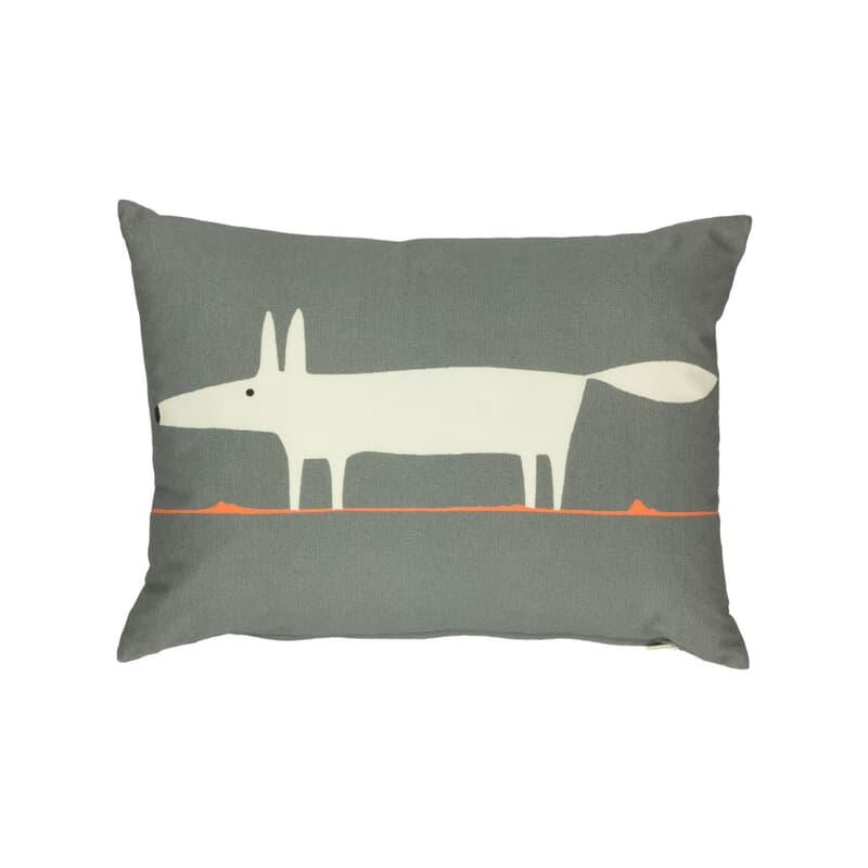 Scion Curtains Mr Fox Cushion Charcoal large
