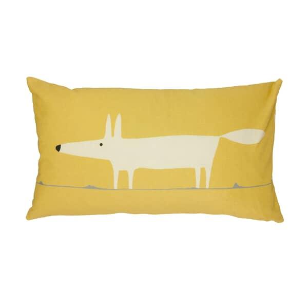 Mr Fox Mix Cushion Ochre