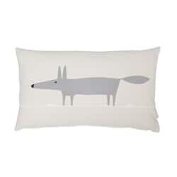 Mr Fox Mix Cushion Parchment