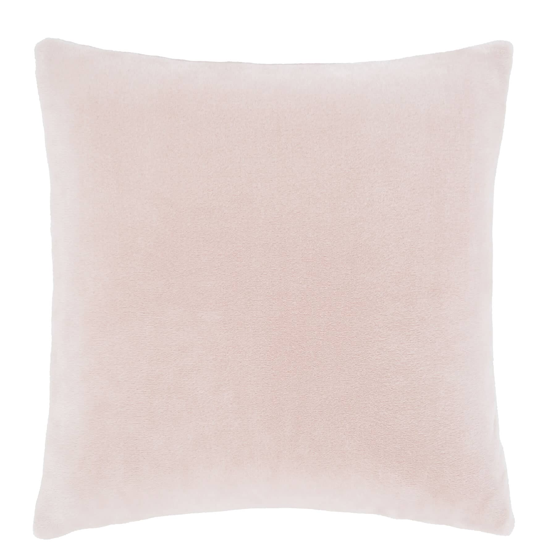 Raschel Velvet Touch Cushion Cover Blush