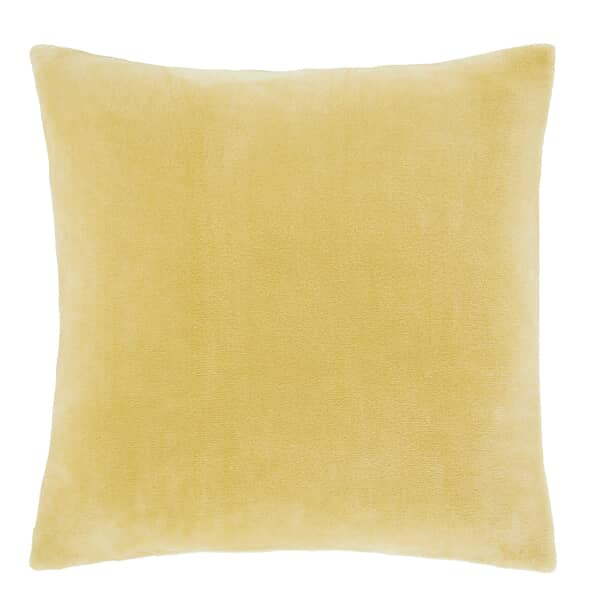 Raschel Velvet Touch Cushion Cover Ochre