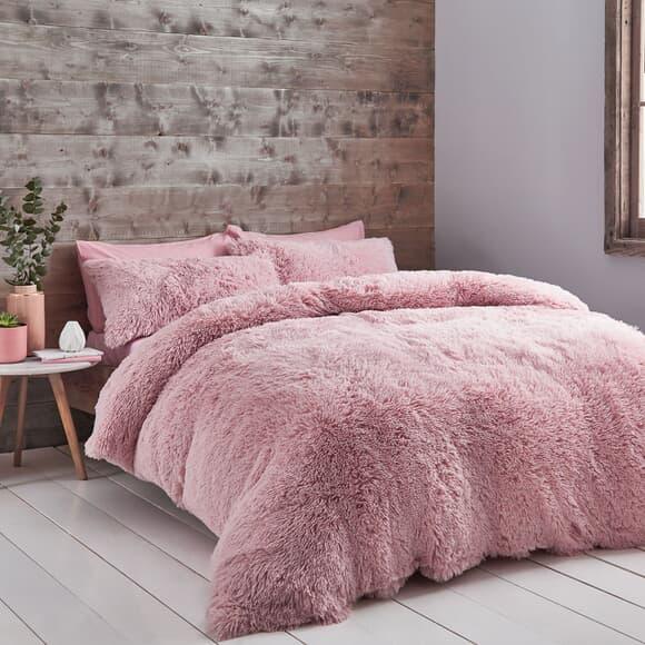 Catherine Lansfield Cuddly Blush large