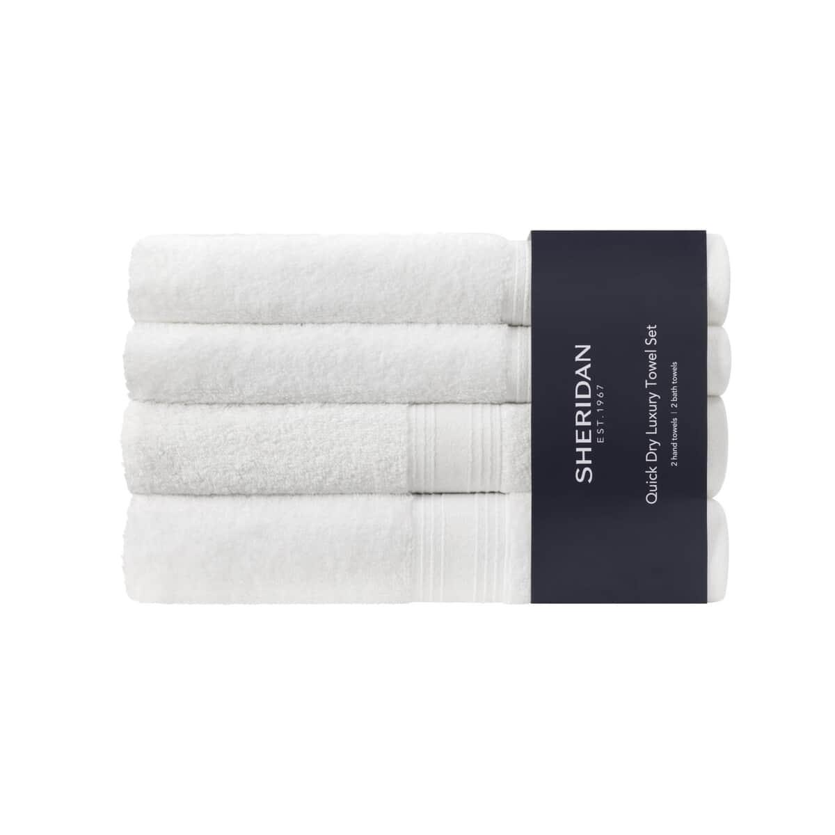Sheridan Quick Dry Towel Bale White large