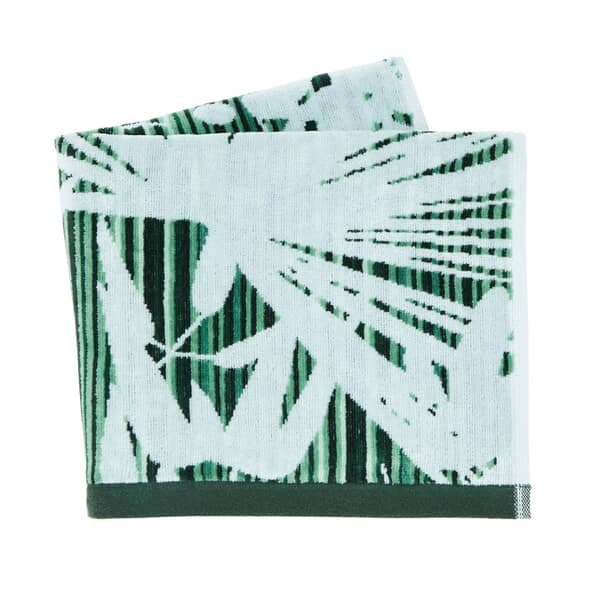 Rainforest Towels Green
