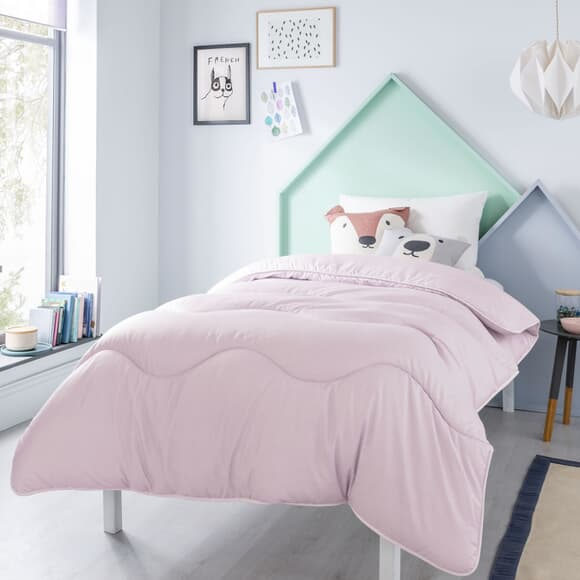 Fine Bedding Co Night Owl Dusty Pink large