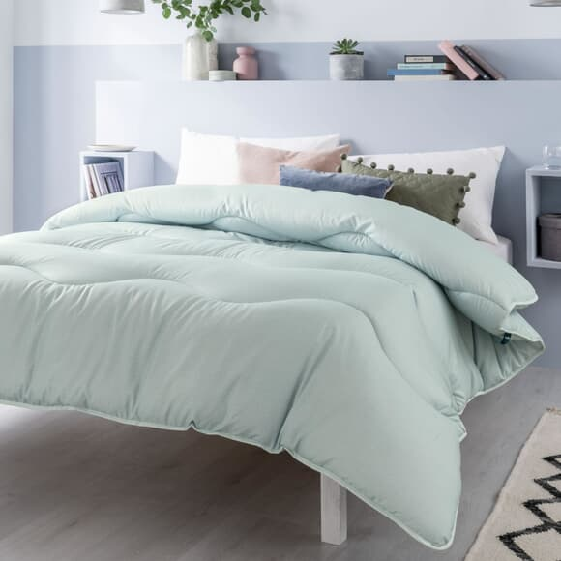 Fine Bedding Co Night Owl Aurora Green large