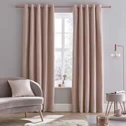 So Soft Luxe Velvet Curtains Blush