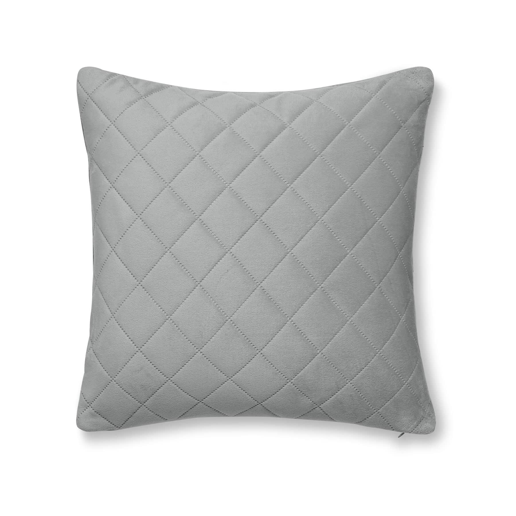 So Soft Luxe Velvet Cushion Cover Silver