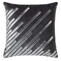 Strobe Cushion Slate