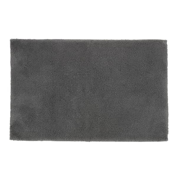 Deep Pile Rugs Ash Grey
