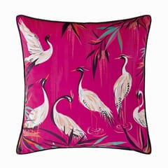 Heron Cushion Pink