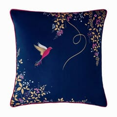 Hummingbird Cushion Navy