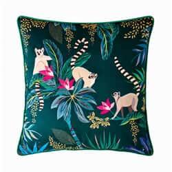 Lemur Cushion Dark Green