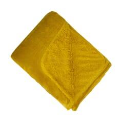 Softest Fleece Throw Mustard