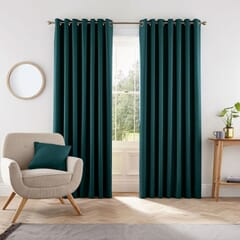 Eden Teal Curtains